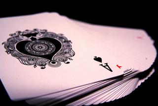 Card tricks in the dark