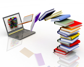 Bigstock-books-fly-into-your-laptop-17224229