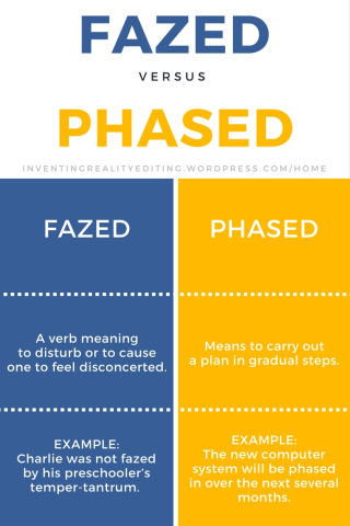 Fazed vs. Phased