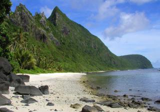 American Samoa NP Ofu Beach