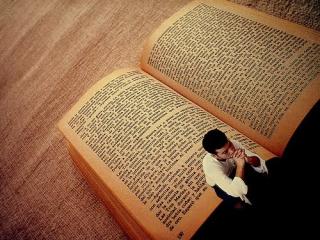 When I want to read a novel  I write one.