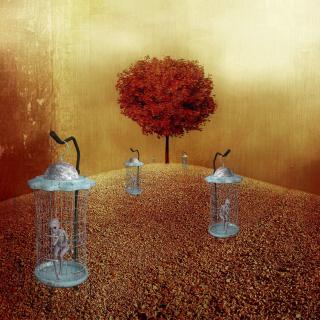 Canva - Tree  Alien  Surreal  Artfully  Artistic  Fantasy