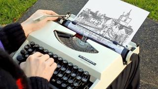 0 typewriter